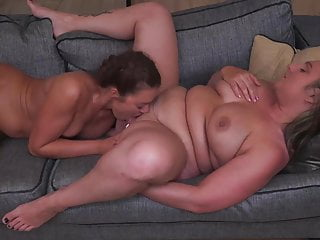 Daughter licks moms ass and pussy