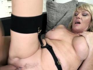 Pounding a chap-fallen granny