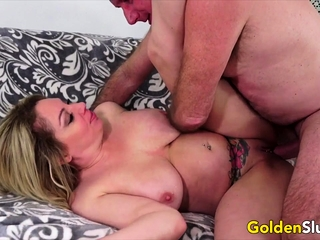 Golden Old bag - Mature Blondes Comp 3