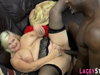Ass rimmed british granny gets anally fucked
