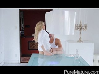 PureMature Anal Loving MILF Gets Fantasy Fill