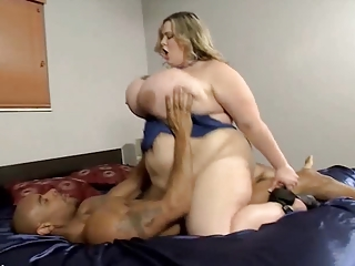 BBW First Interracial