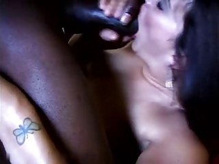 Lucky wife fucks a really BBC