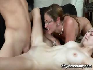 Stepmom Samantha Ryan teaches Ava Hardy