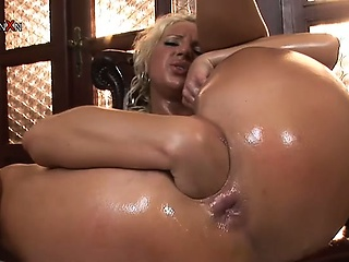 Oiled Fisting