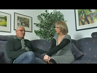 Hot German Grown-up With Tighten one's belt Plus Pinch-hitter Man
