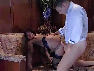 Rich French milf gets fucked