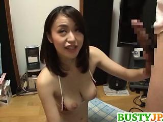 Order about Av model Kaede Niiyama deepthroats and gets a titjob