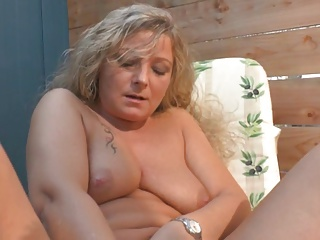 Together quiet at hand admirable German milfs