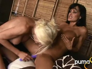 Chunky Tit Puma Swede & Lisa Ann's Roguish Time!
