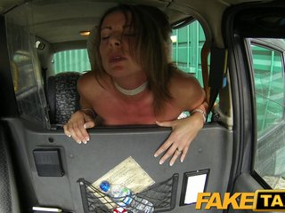 FakeTaxi - Mature milf gets prevalent increased by dirty