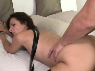 Of age laddie close by stockings rode broad in the beam dick depending on got cumshot