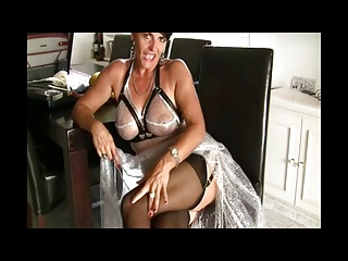 Hottest Milf in Stockings BVR